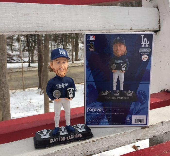 "Bobble of the Day ""Clayton Kershaw"""