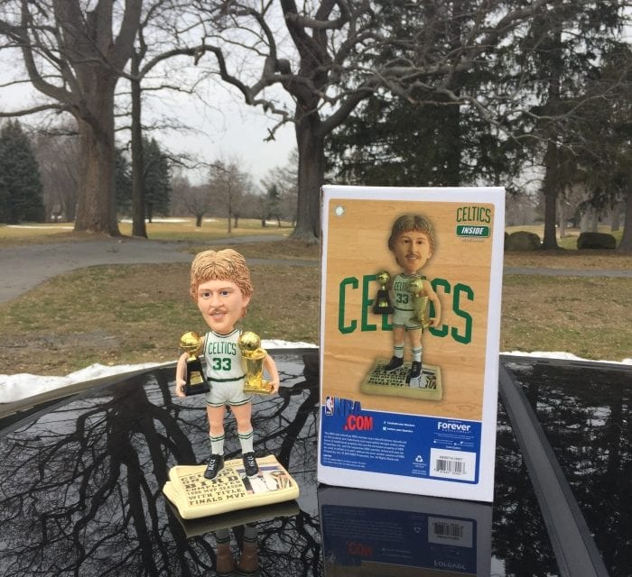 """Bobble of the Day """"Larry Bird"""""""