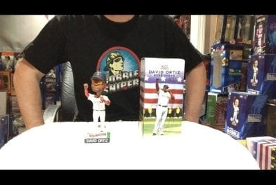 """e2f5286b3155f BobbleSniper Youtube Episode  2 David Ortiz """"Replacement"""" bobblehead"""