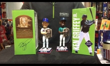 Bobble Sniper Youtube Episode #12 Piazza/Griffey HOF Bobbleheads