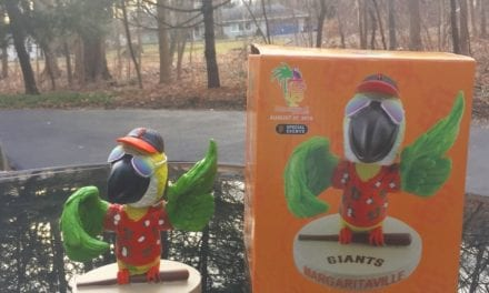 "Bobble of the Day ""SF Giants Parrot"""