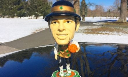 "Bobble of the Day ""Lucky the Leprechaun"""