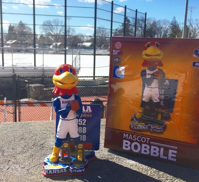 "Bobble of the Day ""Kansas Jayhawk"""