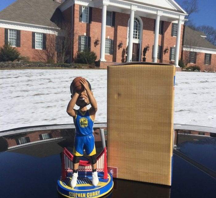 """Bobble of the Day """"Stephen Curry"""""""