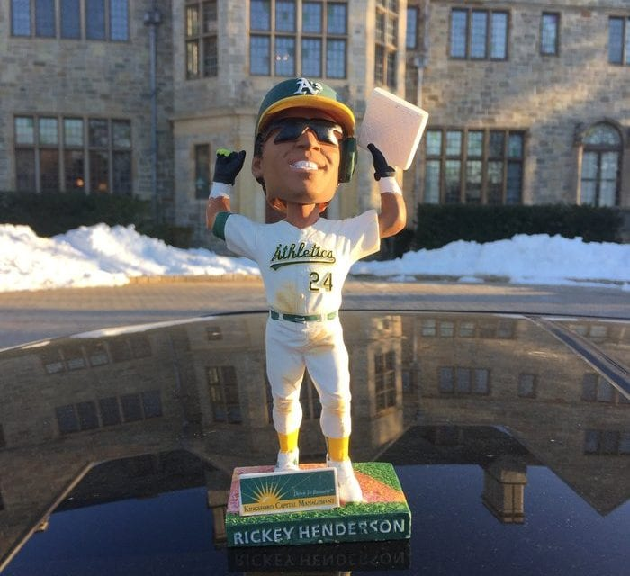 "Bobble of the Day ""Rickey Henderson"""