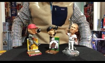 Bobble Sniper Youtube Episode #15 No love for Mike Trout Bobbleheads?