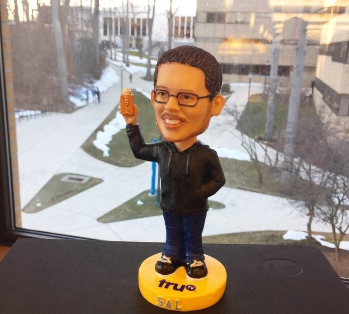 "Bobble of the Day ""Sal"" Tru TV"