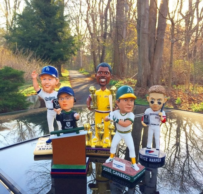 Why we collect Bobbleheads…