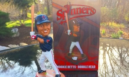 "Bobble of the Day ""Mookie Betts"""