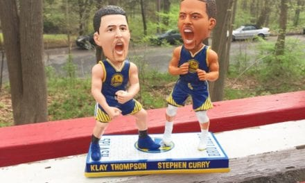 "Bobble of the Day ""Klay Thompson/Stephen Curry"""