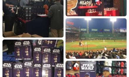 Recap of Fenway Jedi Mookie Jedi Bobblehead Night