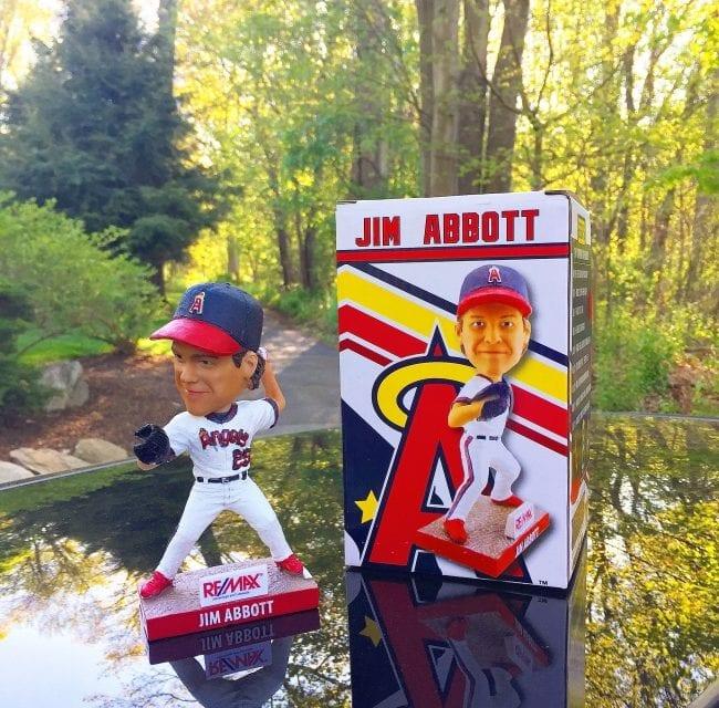 """Bobble of the Day """"Jim Abbott"""""""