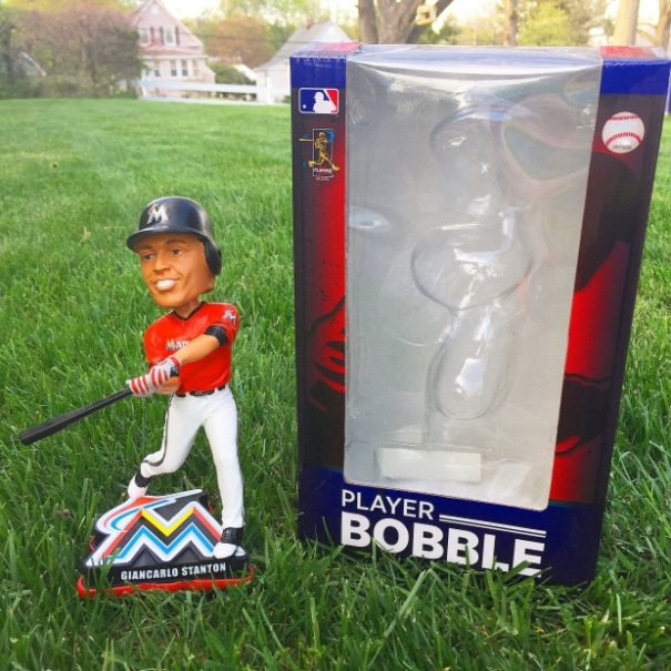 "Bobble of the Day ""Giancarlo Stanton"""