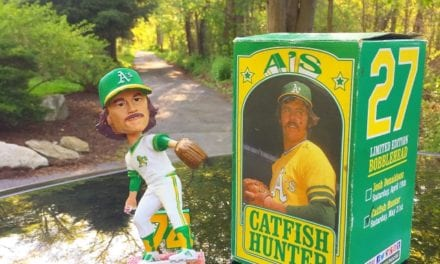 "Bobble of the Day ""Catfish Hunter"""
