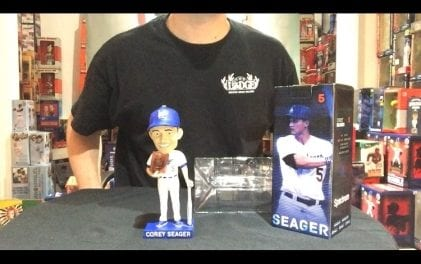 Bobble Sniper Youtube Episode #22 Corey Seager LA Dodgers SGA