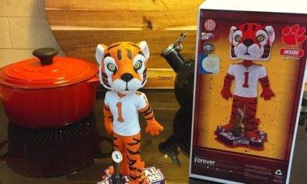 "Bobble of the Day ""Clemson Tiger"""