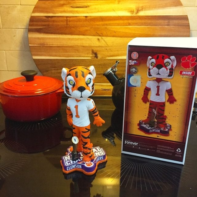 """Bobble of the Day """"Clemson Tiger"""""""
