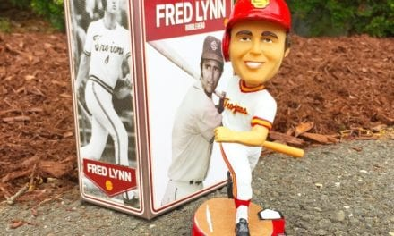 "Bobble of the Day ""Fred Lynn"" USC Trojans"