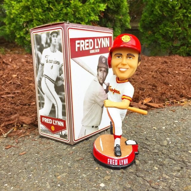 "Bobble of the Day ""Fred Lynn"" USC Trojans"