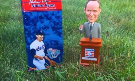 "Bobble of the Day ""Nolan Ryan"""