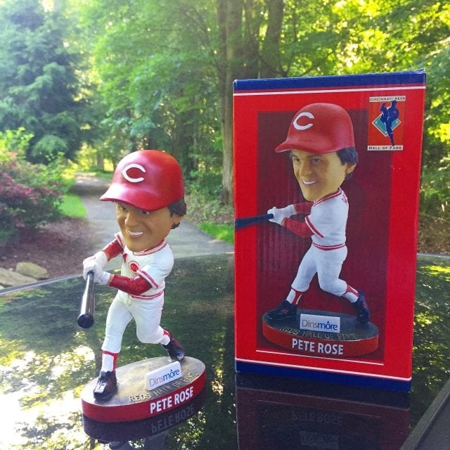 "Bobble of the Day ""Pete Rose"""