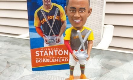 "Bobble of the Day ""Giancarlo Stanton"" HR Derby Champ"