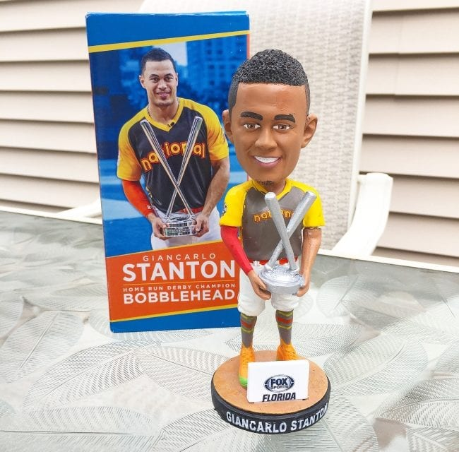 """Bobble of the Day """"Giancarlo Stanton"""" HR Derby Champ"""
