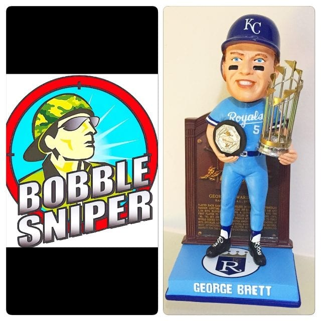 Bobblesniper vs. George Brett shitting their pants. Both True stories.