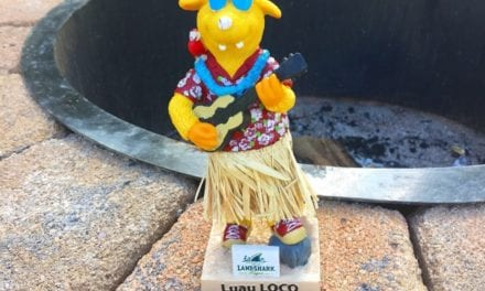 "Bobble of the Day ""Luau Loco"""