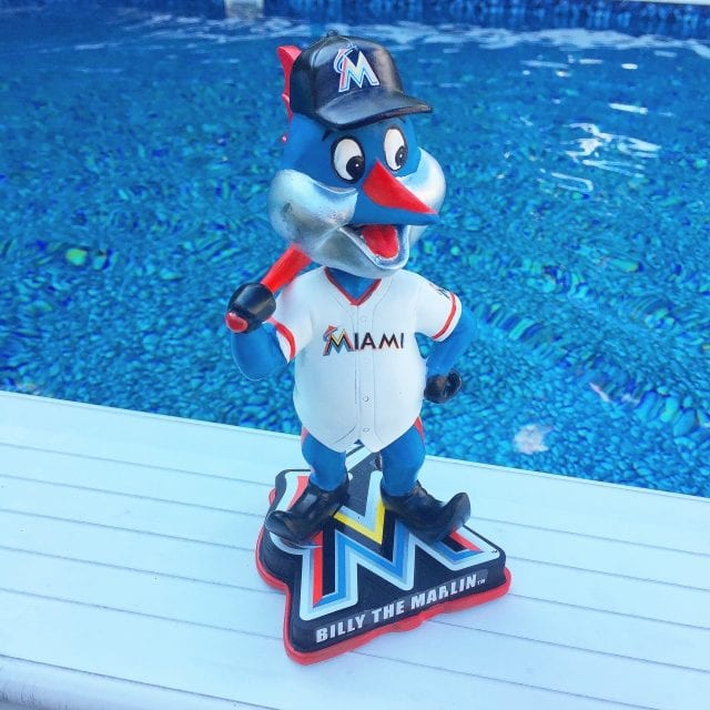 "Bobble of the Day ""Billy the Marlin"" Mascot"