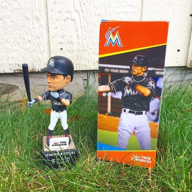 "Bobble of the Day ""Ichiro Suzuki"" Hit Counter"