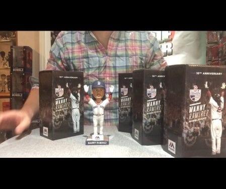 f1e2f36482411 Bobble Sniper Youtube Episode  31 Manny Ramirez SGA Bobblehead