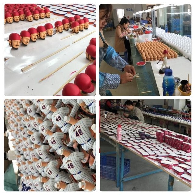 Exclusive inside look to where your bobbleheads are made in China!