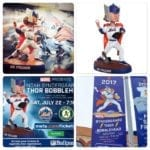 If you're going to Saturday's Thor/Marvel bobblehead game at Citi Field…..