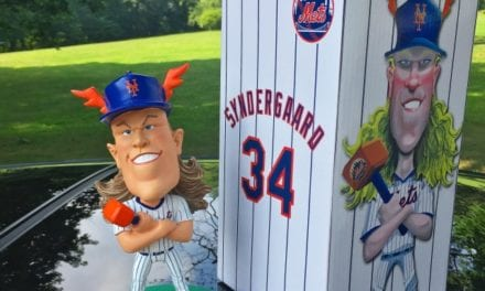 "Bobble of the Day ""Noah Syndergaard"" Caricature Bobblehead"