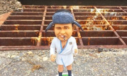 "Bobble of the Day ""Cousin Eddie"" The shitter was full!"