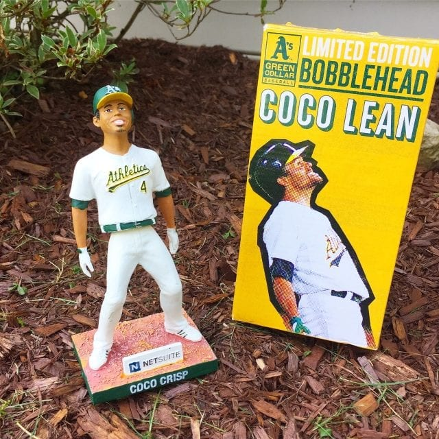 "Bobble of the Day ""Coco Crisp"" Coco Lean"