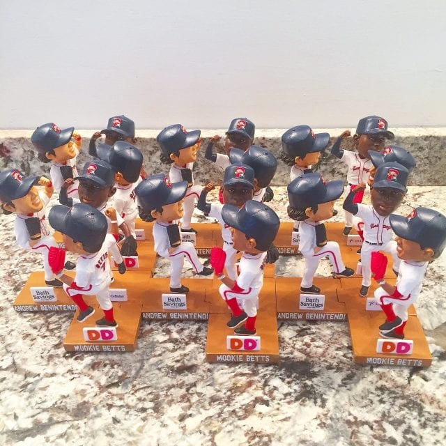 "Bobble Set of the Day ""Win Dance Repeat"" Portland Sea Dogs"