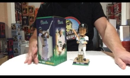 Bobble Sniper Youtube Episode #35 Mike Trout Cedar Rapids Kernels Bobblehead