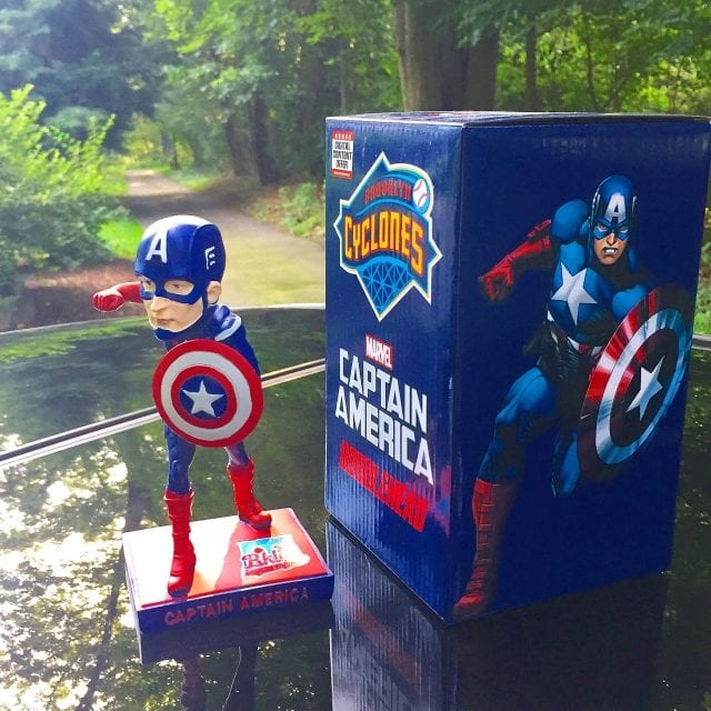 "Bobble of the Day ""Captain America"""