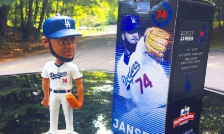 "Bobble of the Day ""Kenley Jansen"""