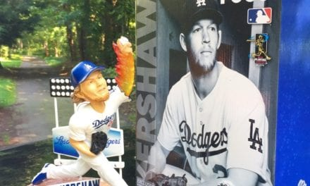"""Bobble of the Day """"Clayton Kershaw"""" Special Edition Bobblehead"""
