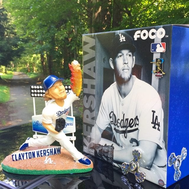 Bobble Of The Day Clayton Kershaw Special Edition Bobblehead