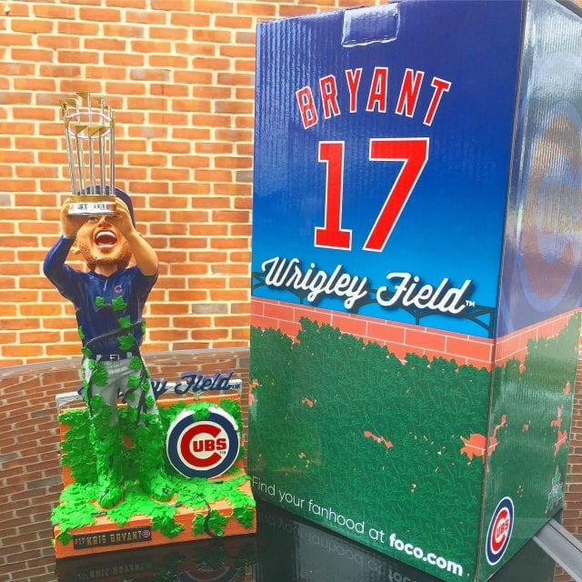 "Bobble of the Day ""Kris Bryant"" Special Edition Bobblehead"