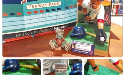 """Bobble of the Day """"Mookie Betts"""" Special Edition Bobblehead"""