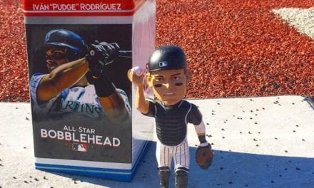 "Bobble of the Day ""Ivan Rodriguez"" SGA Bobblehead"