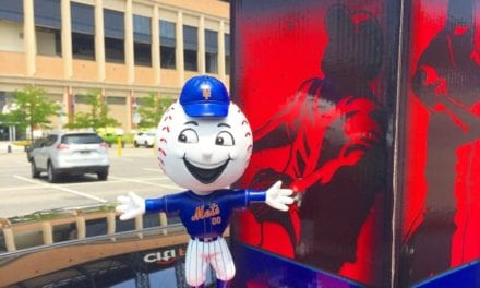 "Bobble of the Day ""Mr. Met"" Special Edition Bobblehead"
