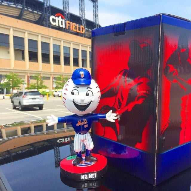 """Bobble of the Day """"Mr. Met"""" Special Edition Bobblehead"""