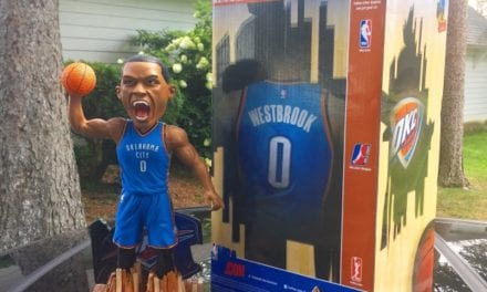 "Bobble of the Day ""Russell Westbrook"" Special Edition Bobblehead"