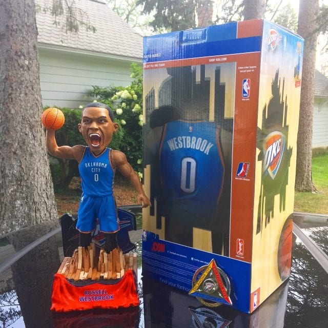 """Bobble of the Day """"Russell Westbrook"""" Special Edition Bobblehead"""